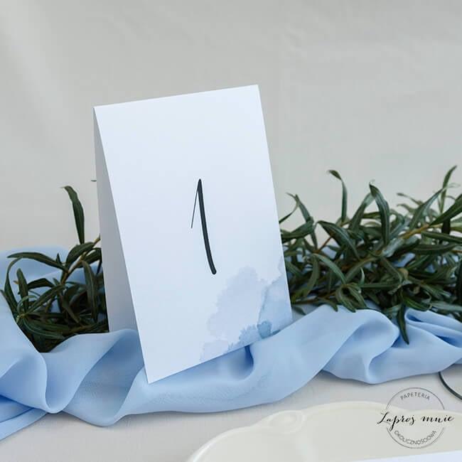 numer stolika weselnego